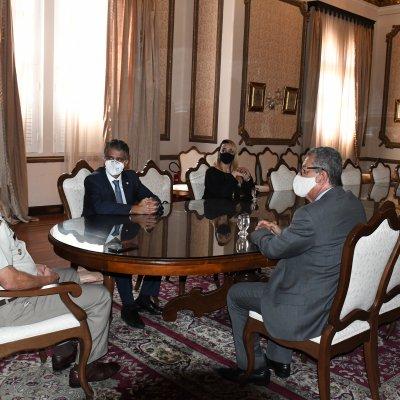 [OAB-BA se reúne com comandante-geral da PM para cobrar  medidas no caso de advogada agredida em Vitória da  Conquista]
